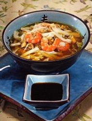 Рыбный суп в китайском стиле