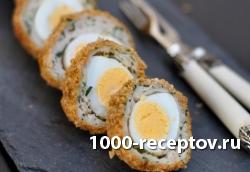 Перепелиные яйца (по-шотландски)