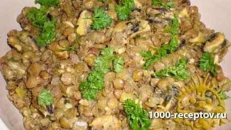чечевица, блюда из чечевицы