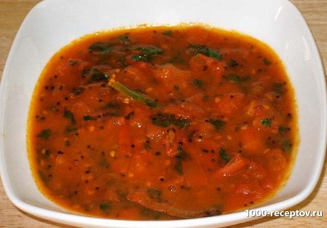 чатни, индийский соус, томатный соус