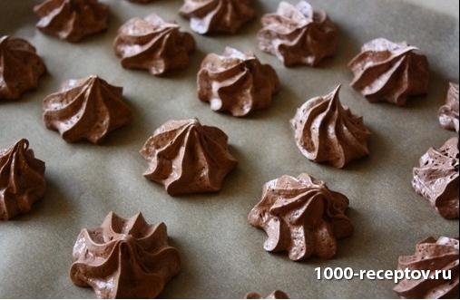 Шоколадные меренги