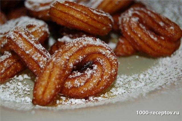 баранки с сахарной пудрой
